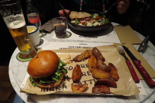 Eten bij Doppio Malto