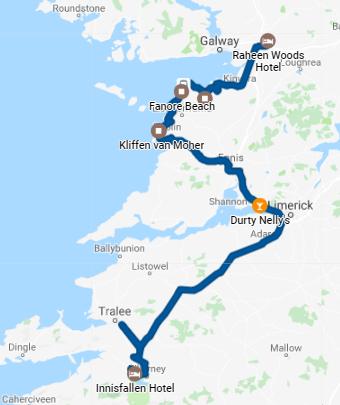 Dag 4: Athenry naar Killarney